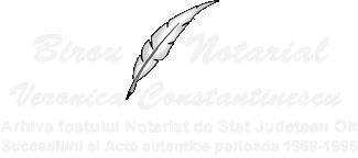 Birou notarial Veronica Constantinescu