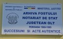 Arhiva fostului Notariat de Stat Olt thumbnail image
